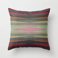 rug Throw Pillows featuring Rug by SensualPatterns