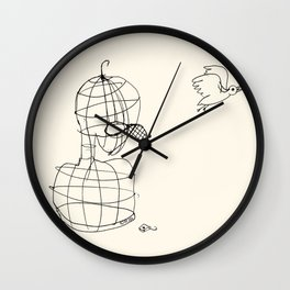This Bird Has Flown. Wall Clock