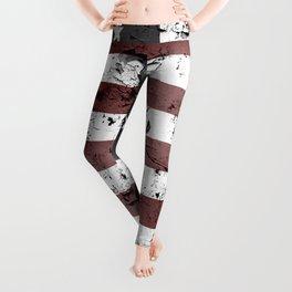 United States of America flag  Leggings