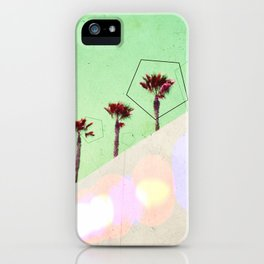 Levitated Mass (Green) iPhone Case