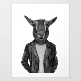 Don Pedro Old Goats Are Cool Art Print