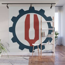 Red Fork Empire Insignia Wall Mural