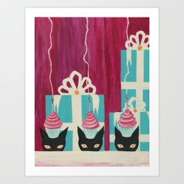 And One for Luck Art Print