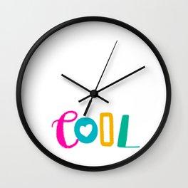 Cool Love Wall Clock