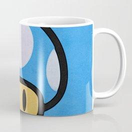Blue Mushroom Coffee Mug