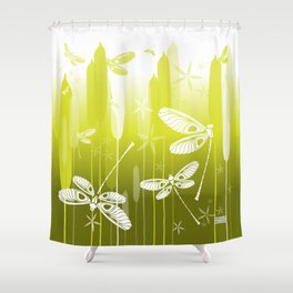 CN DRAGONFLY 1018 Shower Curtain