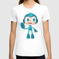 megaman T-shirts featuring Megaman by Peerro