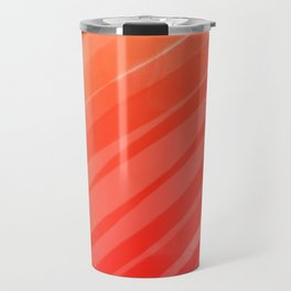 warm colors orange and red abstract Travel Mug