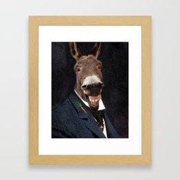 Donkey Eddie E. Smith Framed Art Print