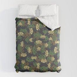 Invaded Camo WOODLAND Comforters