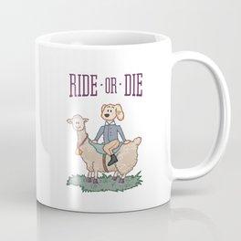 Ride or Die - Dog Coffee Mug