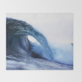The Wave Throw Blanket