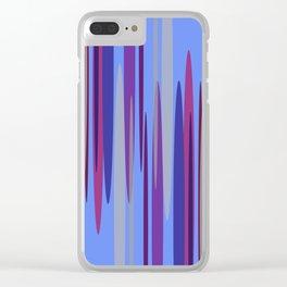 Peakwold (Blue) Clear iPhone Case