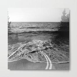Coastal Highway Metal Print