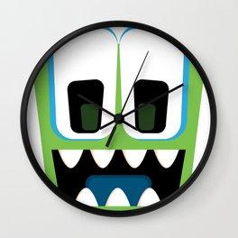 Bubble Beasts: Chilling Cucumber Body Scrub Wall Clock