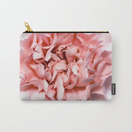 PINK FLOWER - GENTLE CARNATION Carry-All Pouch