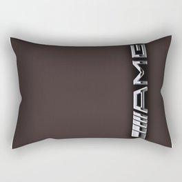 Grey logo AMG Rectangular Pillow