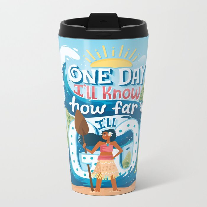 The ocean chose me Metal Travel Mug