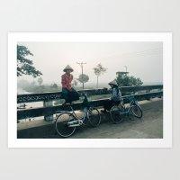Boys of Burma Art Print