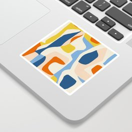 Me & Mine #abstract #painting Sticker