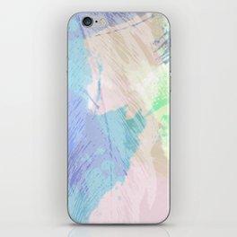 Wishy Washy Blues iPhone Skin