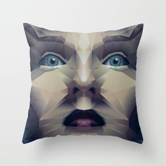 Facet_CD2 Throw Pillow