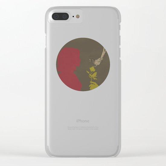 Toma Un Flor Clear iPhone Case