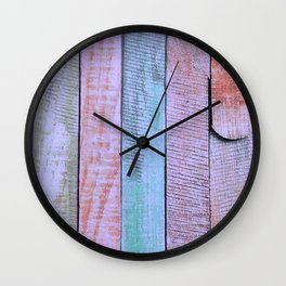 Vintage Colors Wall Clock