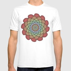 Sheep Ear Art - 1 MEDIUM White Mens Fitted Tee