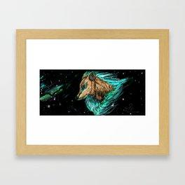 Wolf Spirit Framed Art Print