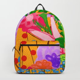 flower bomb Backpack