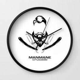 ManMane Crusade Wall Clock