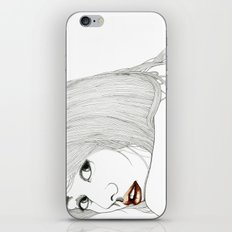 Curiously distant iPhone & iPod Skin