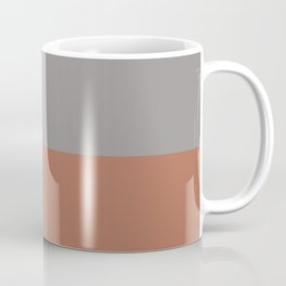Earthy Horizon 3 Inspired by Sherwin Williams Cavern Clay Sw 7701 and Slate Violet SW 9155 Coffee Mug
