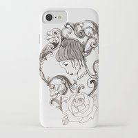 mirror iPhone & iPod Cases featuring Mirror by Bake