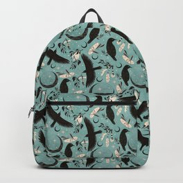 Raven Tarot blue Backpack