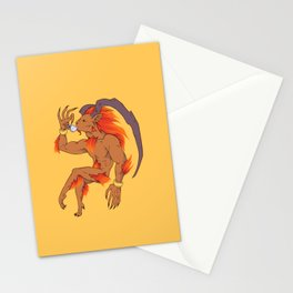 Tea Toting Ifrit Stationery Cards