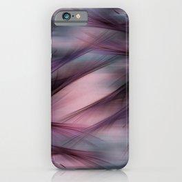 Soft Hazy Mauve Abstract iPhone Case