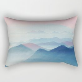 Mountains Rectangular Pillow