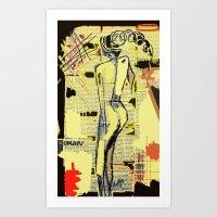 women Art Prints featuring Women by sladja
