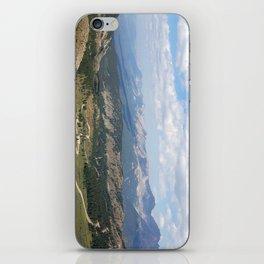 Mountain range iPhone Skin