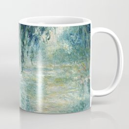 1898-Claude Monet-Morning on the Seine- 73 x 91 Coffee Mug