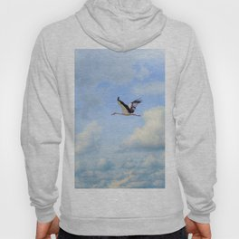 Flying stork Hoody
