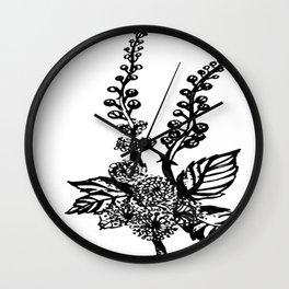 Black Cohosh Wall Clock