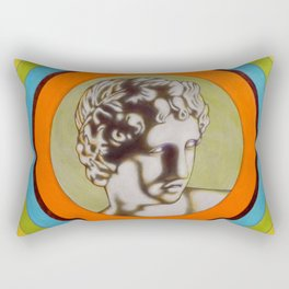 Apollo alla Galleria degli Uffizi Rectangular Pillow