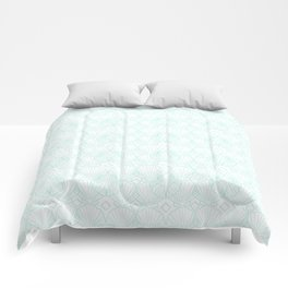 Miami Beach Motel- Mint Comforters