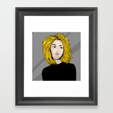 i think Framed Art Print