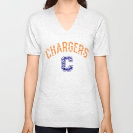 Jackson Public Schools Bands: Callaway Chargers Unisex V-Neck
