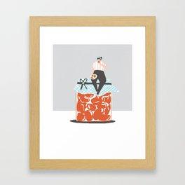 Cherry Tomato Jam Framed Art Print