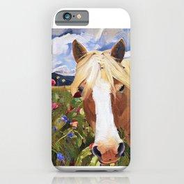 Poppy Haffie iPhone Case
